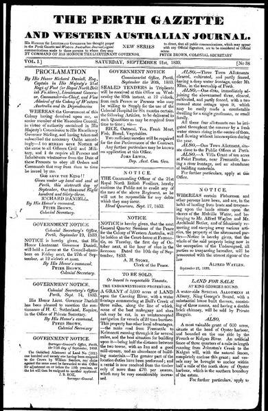 File:The Perth Gazette and Western Australian Journal 1(38).djvu