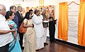The President, Shri Pranab Mukherjee dedicating Shri Shankara Cancer Hospital and Research Centre to the Nation, at Bengaluru.jpg