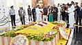 The President, Shri Ram Nath Kovind visiting Dr. APJ Abdul Kalam Memorial, at Rameswaram, in Tamil Nadu on December 23, 2017. The Governor of Tamil Nadu, Shri Banwarilal Purohit is also seen.jpg