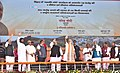The Prime Minister, Shri Narendra Modi at the ceremony to lay the Foundation Stone of Projects under Namami Gange & National Highway projects, in Mokama, Bihar.jpg