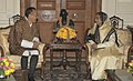 The Prime Minister of Bhutan, Mr. Lyonchhen Jigmi Y. Thinley calling on the President, Smt. Pratibha Devisingh Patil, at Rashtrapati Bhavan, in New Delhi on November 02, 2010.jpg