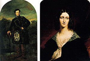 Lindesay, Darling Point - Campbell Drummond Riddell and his wife Caroline Stuart Riddell