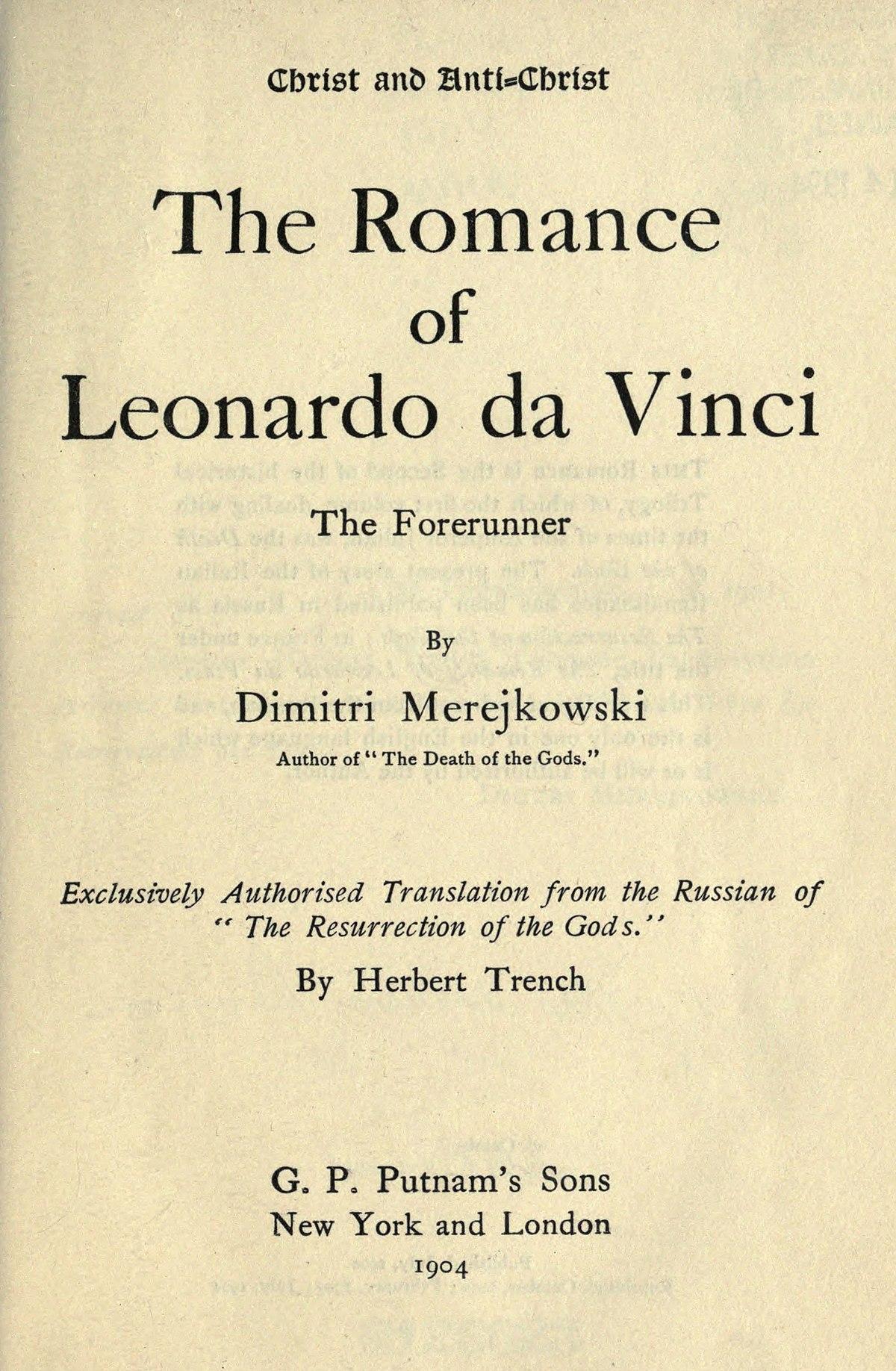 the of leonardo da vinci