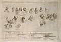 The School of Athens; a key to the figures in the compositio Wellcome V0006664.jpg