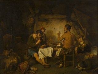 The Story of the Farmer and the Satyr from Aisopus' Fables
