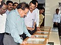 The Union Minister for Science & Technology, Earth Sciences and Environment, Forest & Climate Change, Dr. Harsh Vardhan visiting the campus of Zoological Survey of India, in Kolkata on May 08, 2018 (1).JPG