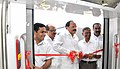 The Union Minister for Urban Development, Housing and Urban Poverty Alleviation and Parliamentary Affairs, Shri M. Venkaiah Naidu inaugurating the debut of coach.jpg
