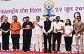 The Vice President, Shri M. Venkaiah Naidu releasing books on Yoga at the 4th International Day of Yoga 2018 celebrations, in Mumbai.JPG