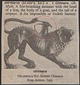 """The chimera picture taken from the old Dictionary """"The American Heritage Dictionary.jpg"""