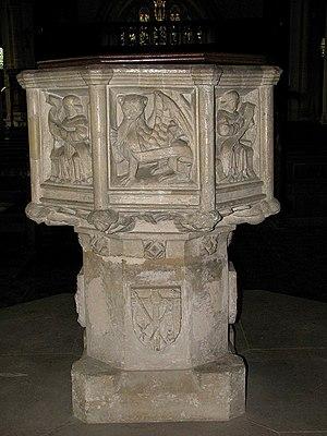 St Nicholas, Blakeney - The font