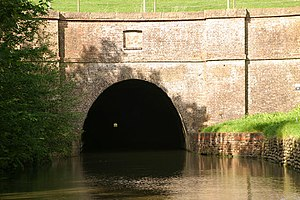 Crick, Northamptonshire -  South entrance to Crick canal tunnel