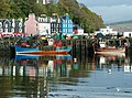 The ferry pier and Mishnish Hotel, Tobermory. - geograph.org.uk - 2379491.jpg
