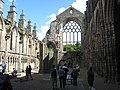 The great east window of Holyrood (Holyrude) Abbey (geograph 3576619).jpg