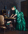 The green dress, by William McGregor Paxton.jpg