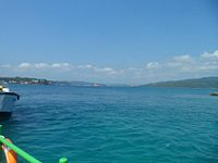 The greenish-blue water color of Andaman Sea.jpg