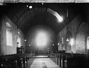 The interior of the church, Cynwyl Gaeo