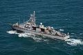 The patrol coastal ship USS Squall (PC 7) transits the Persian Gulf during exercise Spartan Kopis Dec. 9, 2013 131209-N-OU681-1798.jpg