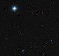 The sky around the red dwarf star Ross 128.jpg