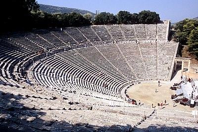 Ancient Theatre of Epidaurus - Wikipedia