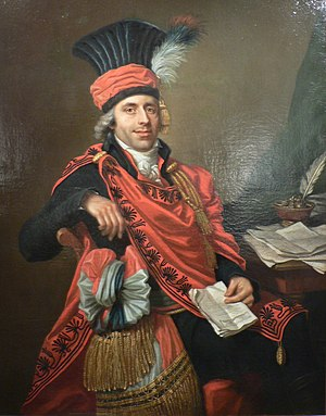 Council of Ancients - Bouquerot de Voligny (1755-1841) in his uniform as a member of the Council of Ancients