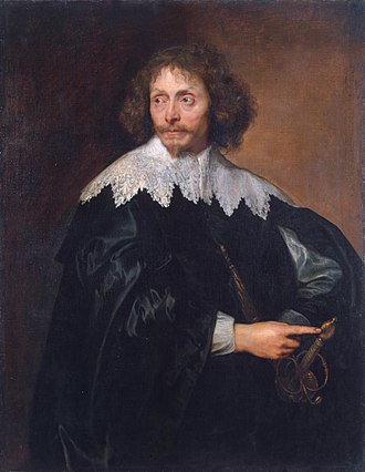 Thomas Chaloner (regicide) - Chaloner painted by Anthony van Dyck, 1637
