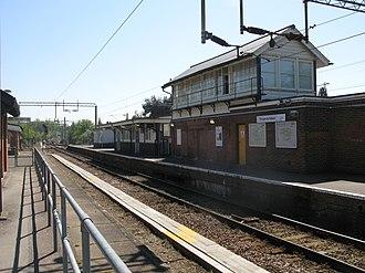 Thorpe-le-Soken railway station - Image: Thorpe Le Soken station