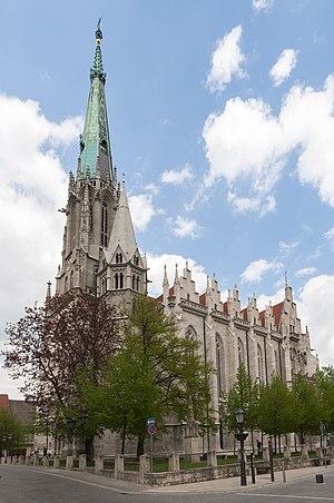 St. Mary's Church, Mühlhausen - St. Mary's Church