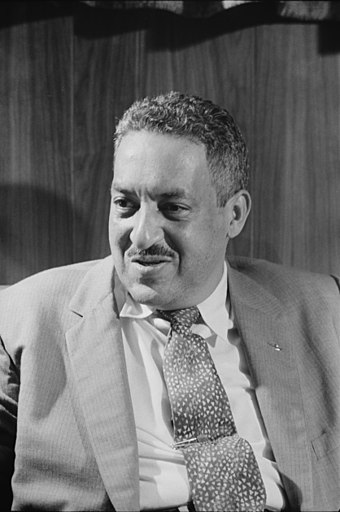 Thurgood Marshall, appointed to the bench by Kennedy in May 1961 Thurgood Marshall 1957-09-17.jpg