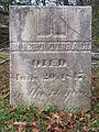 Tidball (Robert), Bethany Cemetery, 2015-10-09, 02.jpg
