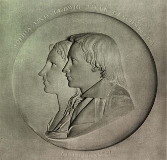 Sophie Tieck - Sophie Tieck with her brother Ludwig Tieck