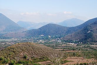 Landa de Matamoros - View of the Tilaco Valley