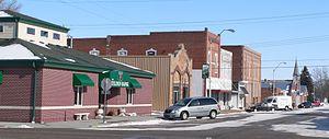 Tilden, Nebraska - North side of 2nd Street in Tilden