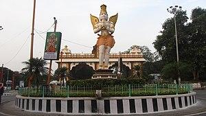 Alipiri - Garuda statue at Alipiri in Añjali Mudrā