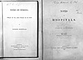 Title page; 'Notes on Hospitals' by Florence Nightingale Wellcome L0000040.jpg