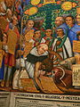 Tlaxcala - Palacio de Gobierno - Indianer und christliche Religion.jpg
