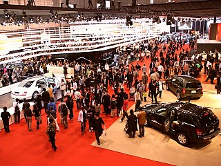 The Tokyo Motor Show is a biennial auto show held at the Tokyo Big Sight, Tokyo, Japan for cars, motorcycles and commercial vehicles.