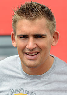 alt=Description de l'image Toby Flood 2014.jpg.
