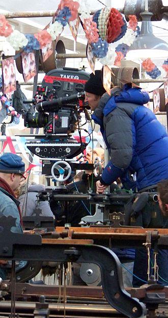 Tom Hooper - Hooper directing The King's Speech on location in 2010