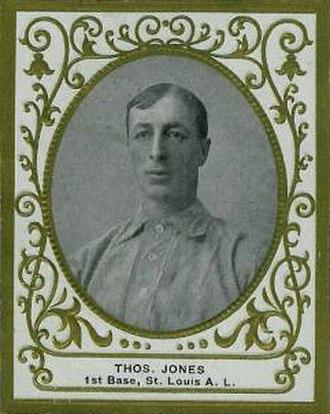 Tom Jones (baseball) - Image: Tom Jones (baseball)