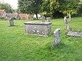 Tomb in Chalton Churchyard - geograph.org.uk - 1498438.jpg