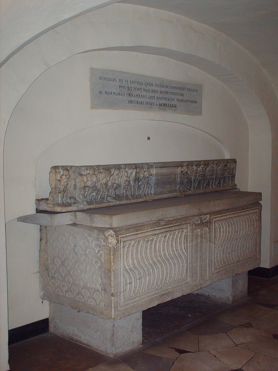 Tomb of Pius VI