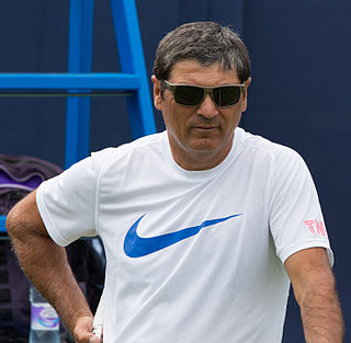Spanish tennis coach