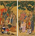 Tonsure, Five Hundred Arhats, Scrolls 17 & 18.jpg