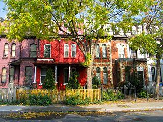 Cabbagetown, Toronto Neighbourhood in Toronto, Ontario, Canada