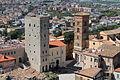 Torre dei Rosa - veduta dal castello frangipane.JPG