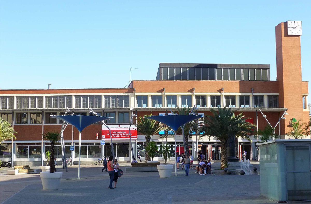Stazione di torrej n de ardoz wikipedia - Fotos de torrejon de ardoz ...