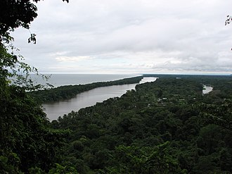 Tortuguero National Park - View from Tortuguero Mountain