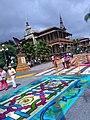 Tradicionales alfombras de San Miguel en Orizaba, Veracruz 2017 02.jpg