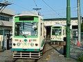 Tram depot at Arakawa shako-mae (289753772).jpg