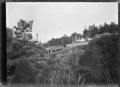 Tram going up Maori Hill in Dunedin ATLIB 289961.png